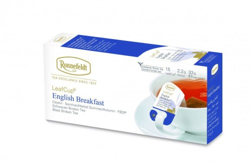 "Opakowanie Leaf Cup ""English Breakfast"" - 15 saszetek x 2,2g"