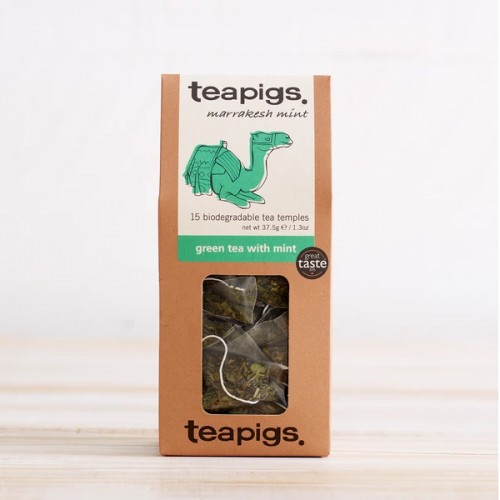 Teapigs Green Tea with Mint | 15 saszetek x 2,5g