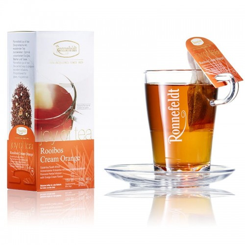 Herbata Rooibos Ronnefeldt Cream Orange Joy of Tea sklep z herbatą